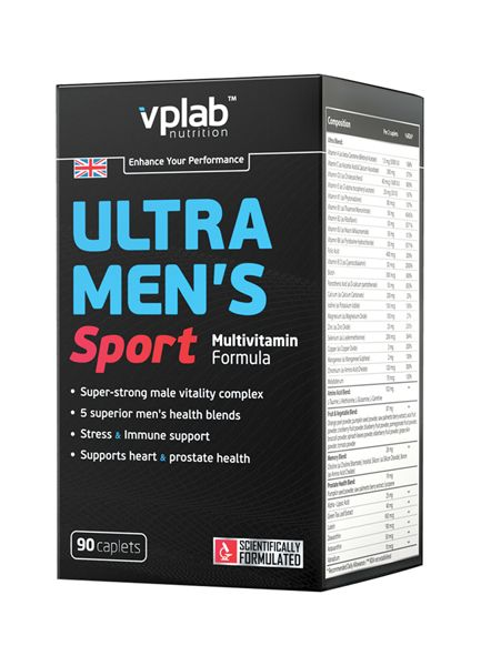 Ultra Men's Sport Multivitamin (90 капс)